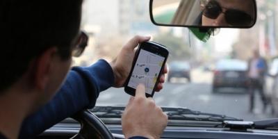 Taxistas protestan en la AFA porque Uber es nuevo patrocinador de Argentina