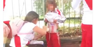 Detienen a la mujer que adhirió bengalas en un niño para ingresarlas a River-Boca