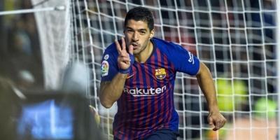Luis Suárez será baja durante dos semanas en el Barcelona.