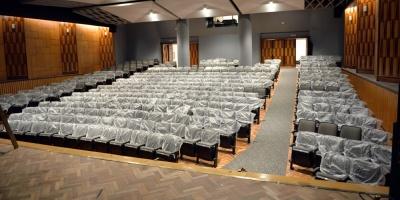 El MEC reabre el Auditorio Carlos Vaz Ferreira de la Biblioteca Nacional