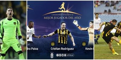 Hay equipo ideal; Paiva, Cristian Rodríguez y Dawson candidatos a mejor futbolista
