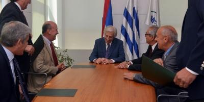 Asociación Rural planteó crisis del sector al presidente Vázquez
