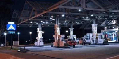 Falta el combustible en Montevideo y el sur del país
