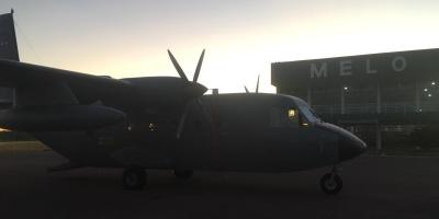 La Fuerza Aérea realizó un nuevo traslado sanitario desde Melo