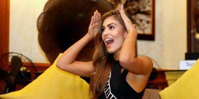 """La candidata colombiana a Miss Universo: las modelos """"no somos perfectas"""""""