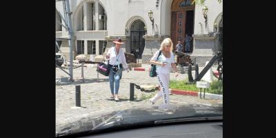 Alerta de Interpol demoró el regreso de la actriz Moria Casán en Montevideo