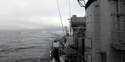 Armada debió abrir fuego para capturar a un buque brasileño