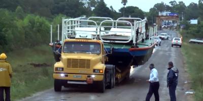 Comenzará a funcionar la balsa en Sarandí del Yí tras afectación de puente