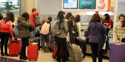 Investigan origen de desperfecto que generó demoras en aeropuertos