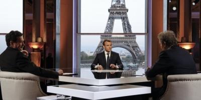 """Macron combate con debates públicos el desafío de los """"chalecos amarillos"""""""