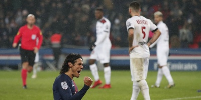 Cavani y Mbappé encabezan una goleada histórica ante el Guingamp