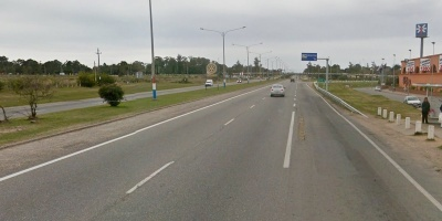 Mujer murió tras ser atropellada al intentar cruzar Interbalnearia