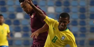 Con doblete de su estrella Rodrygo, Brasil vence a Venezuela