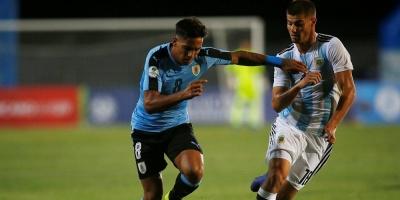 Uruguay cayó ante la Argentina