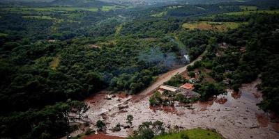 Ya son 9 los muertos y 300 los desaparecidos por la rotura de presa en Brasil