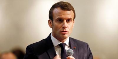 Macron dice que si no hay elecciones está dispuesto a reconocer a Guaidó