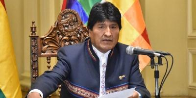 Evo Morales logra un 35 % de respaldo en las primarias en Bolivia
