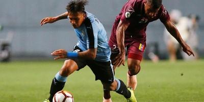 Uruguay iguala ante Venezuela 1-1