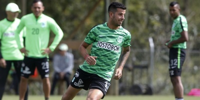 Uruguayo Pablo Cepellini nuevo jugador del Atlético Nacional