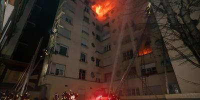 Se elevan a 10 los muertos en el incendio de París que parece intencionado