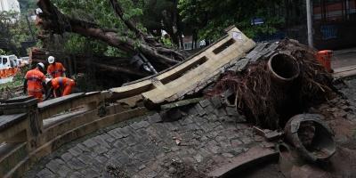 Al menos cinco muertos por fuerte tempestad en Río de Janeiro