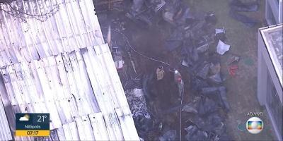 Incendio en el centro de entrenamiento del Flamengo deja al menos 10 adolescentes muertos