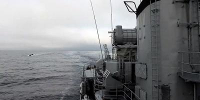 Guardacostas de Argentina captura un pesquero surcoreano