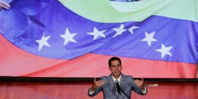 El jefe del Parlamento venezolano, Juan Guaidó, pidió a los militares que permitan el ingreso de la ayuda humanitaria
