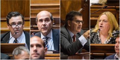 Abdala, Bianchi, Camy y Bordaberry presentaron moción por Venezuela