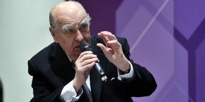 """Sanguinetti advirtió que """"no vienen tiempos fáciles"""" para Uruguay"""