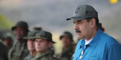 """Maduro llamó """"Judas"""" a su opositor Guaidó: """"quiere entregarle Venezuela a los gringos"""""""