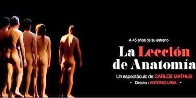 """La célebre obra """"La lección de anatomía"""" llegó para asombrar al verano montevideano."""