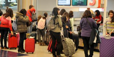 Se incrementó el gasto de uruguayos que viajaron al exterior