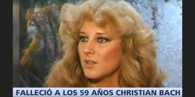 Fallece la actriz de telenovelas Christian Bach a los 59 años