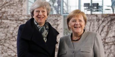 Merkel: Hay que trabajar hasta el último momento por un brexit con acuerdo