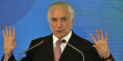 Detuvieron al ex presidente brasileño Michel Temer en caso vinculado a Lavo Jato
