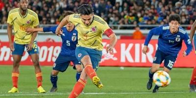 Falcao da el triunfo a Colombia ante Japón
