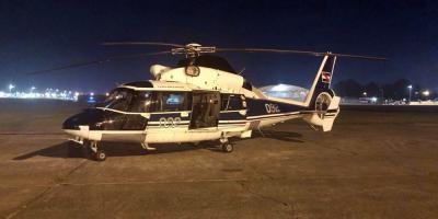 La Fuerza Aérea realizó un traslado de urgencia desde Mercedes