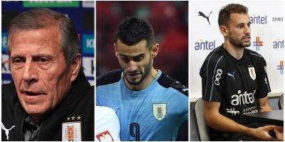Uruguay golea a 3-0 a Uzbekistán