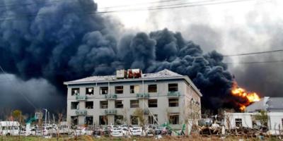 47 personas muertas tras la explosión de una planta química en China