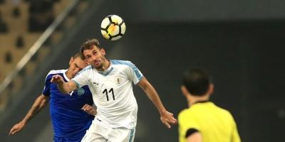 Uruguay goleó a 3-0 a Uzbekistán