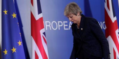 """May conseguiría apoyo a su acuerdo """"brexit"""" si promete dimitir, según la BBC"""