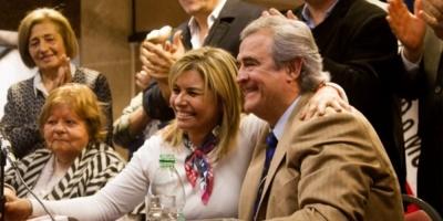 """Intendente Adriana Peña reitera que """"Larrañaga es la mejor opción para el cambio"""""""
