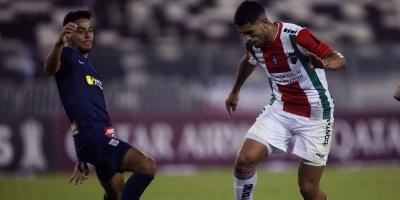 Palestino gana al Alianza Lima y escala en el grupo A de la Libertadores
