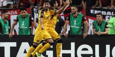 Peñarol derrota al Flamengo en el Maracaná y asume liderato del Grupo D
