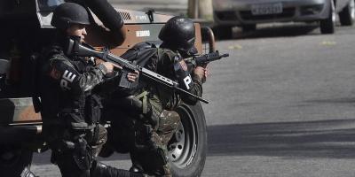 Diez muertos en un tiroteo tras un robo frustrado en dos bancos en Brasil