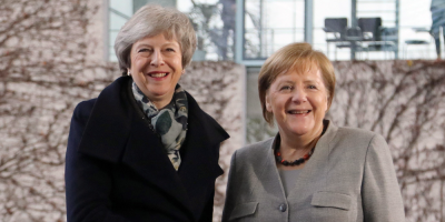 May viajará a Berlín y París para reunirse con Merkel y Macron