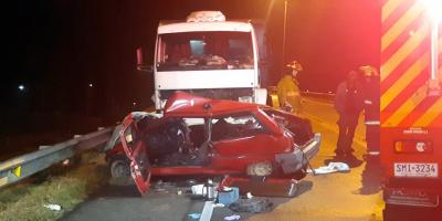 Dos personas fallecieron tras siniestro de tránsito en Florida