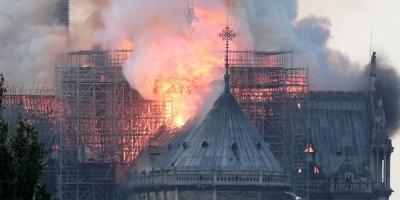 Catástrofe nacional en Francia: se Incendia la catedral de Notre Dame de París