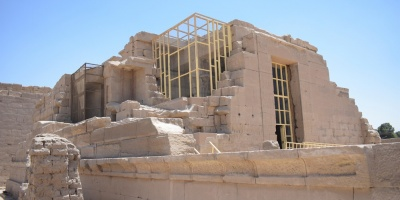 Finalmente este viernes se abrió al público el templo de Opet en Luxor tras meses de restauración